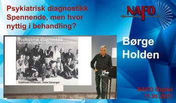 Holden Psykiatriske diagnoser