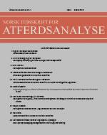 Norsk tidsskrift for atferdsanalyse